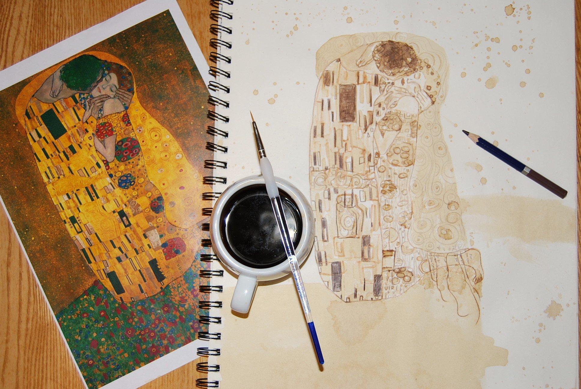 Dipingere Con Il Caffè Si Può
